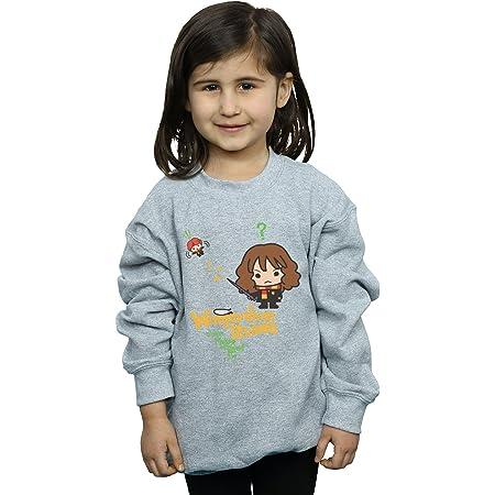 HARRY POTTER niñas Hermione Granger Wingardium Leviosa Junior Camisa De Entrenamiento 12-13 Years Gris Sport