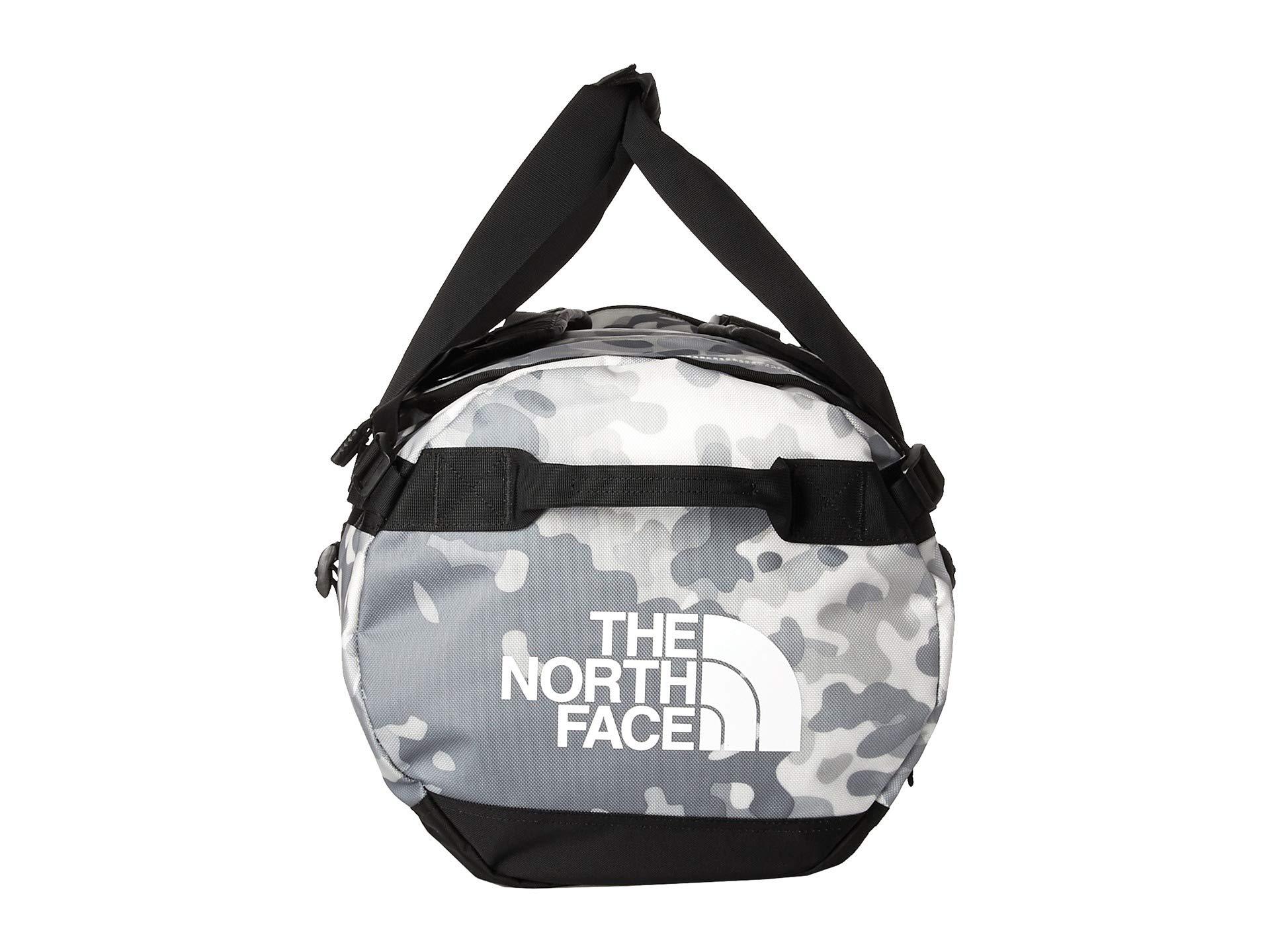 Camp Medium North Tnf Camo Print Base Macrofleck White Face tnf Duffel Black The qtgHUZZ