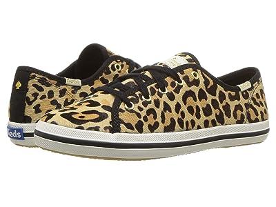 Keds x kate spade new york Kids Kickstart Seasonal (Little Kid/Big Kid) (Leopard) Girl