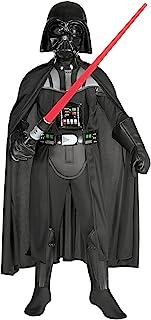 Star Wars - Disfraz de Darth Vader para ninos, talla L (8-
