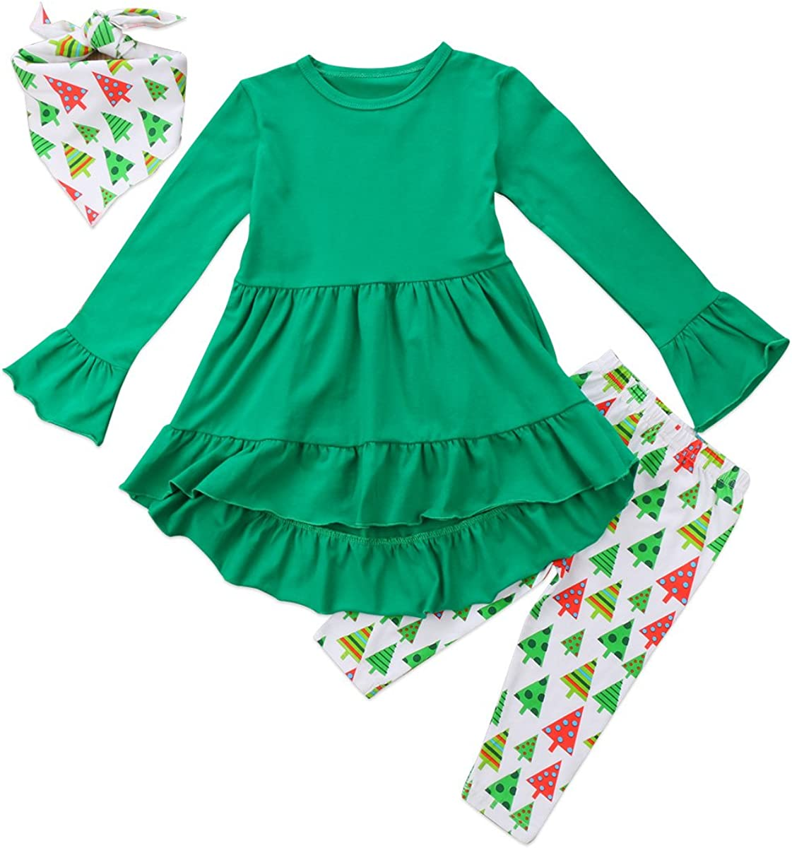 Outlet sale feature Toddler Girl Clothes Ruffles Irregular Tops+Long Pant Mini Popular shop is the lowest price challenge Dress