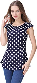Emotion Moms Summer Maternity Clothes Nursing Breastfeeding Clothing for Pregnant Women Maternity Tops T-Shirts