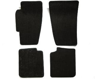 Premier Custom Fit 4-piece Set Carpet Floor Mats for Ford Mustang (Premium Nylon, Black)