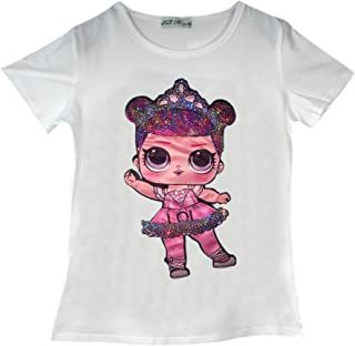 LIURIC Charli-Damelio Graphic T-Shirts Children Boys and Girls Short-Sleeved T-Shirt