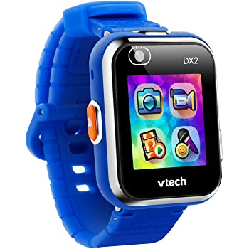 VTech KidiZoom Smartwatch DX2 (Frustration Free Packaging), Blue, Great Gift For Kids, Toddlers, Toy for Boys and Girls, Ages 4, 5, 6, 7, 8, 9