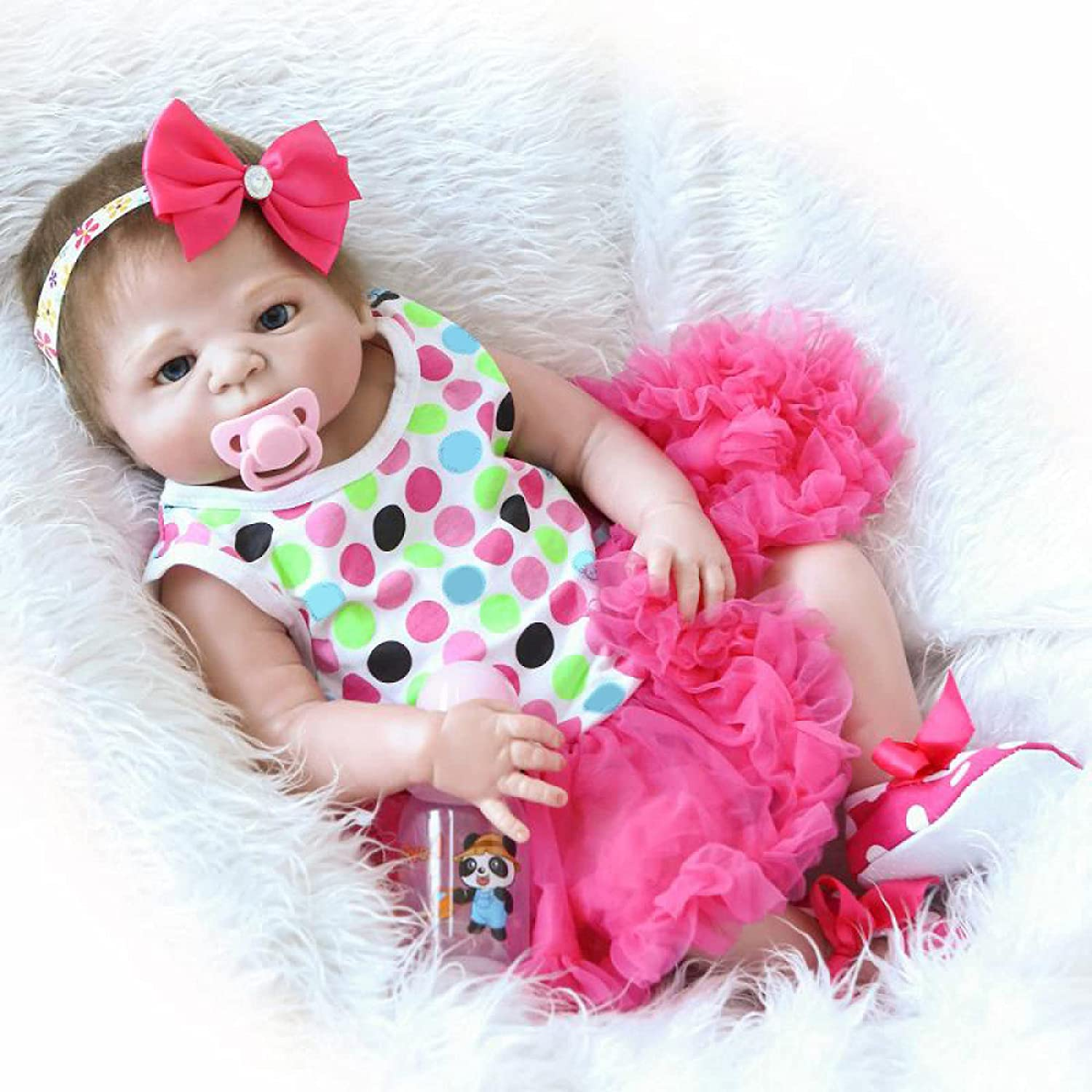 YANRU 2 Year Max 57% OFF Old Girl's Doll 23 Dolls Outstanding H Inch Newborn Baby - Has