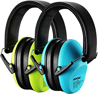 Mpow Kids Ear Protection 2 Pack, NRR 25dB Noise Reduction, Hearing Protection for Kids, Toddler Ear Protection for Hunting...