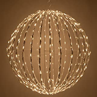 wicker ball lights