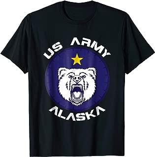 US Army Alaska Polar Bear Patch T Shirt