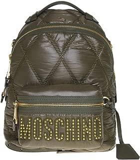 Luxury Fashion | Moschino Womens B760582071440 Green Backpack | Fall Winter 19