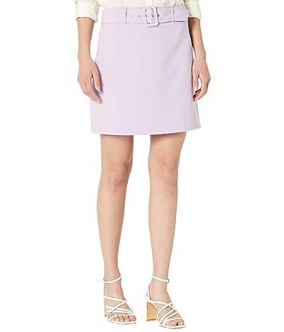 BCBGeneration FT Buckle A-Line Woven Miniskirt T1T01B09