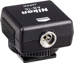 Nikon AS-15 Sync Terminal Adapter Hot Shoe to PC AS15