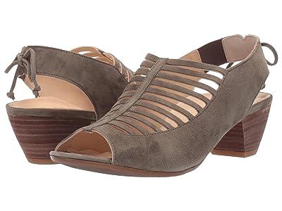 Paul Green Trisha (Olive Suede) High Heels
