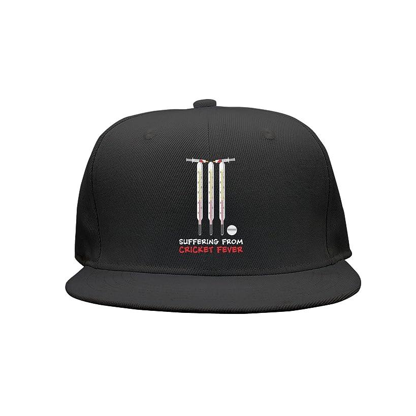 Kijhsaa Cricket Fever Love Unisex Classic Back Plain Caps Snapback