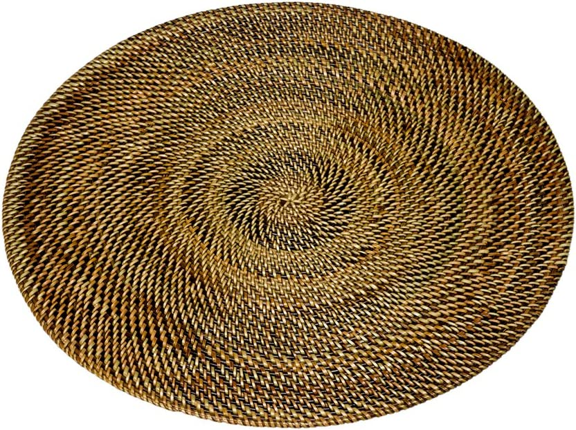 Round Fort Worth Mall Nito Placemat Brown Tucson Mall Set of 2