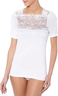 Lingerelle - Lot de 2 chemises manches courtes pur coton