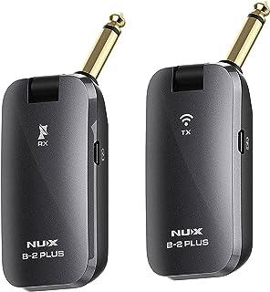 Sistema inalámbrico para guitarra NUX de 2,4 GHz y 4 canales
