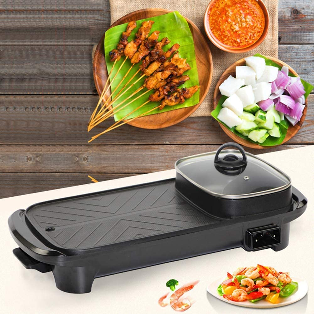 Max 57% OFF wholesale WFY Indoor Camping Grill Electric Barbe Portable