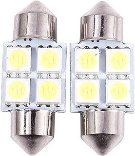 ACAMPTAR 42 mm 12 SMD 3528 LED bianco interni auto c5w lampadina festone cupola 12V