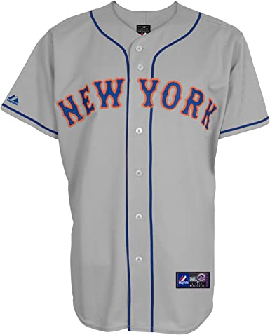 Majestic New York Mets MLB Camiseta Away