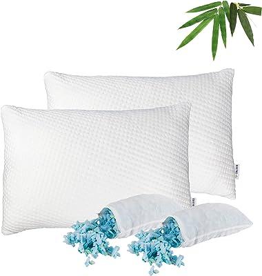 SOLARA Shredded Memory Foam Pillow (2)