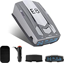 $27 » Radar Detector, E8 Laser Radar Detectors for Cars Voice Prompt Speed and Vehicle Speed Alarm System City/Highway Mode Car ...
