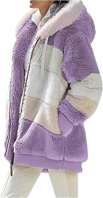BaoRong SHOP sold out Women's Soft Long Sleeve Fleec Ranking TOP2 Fur Zip-up Faux Minx