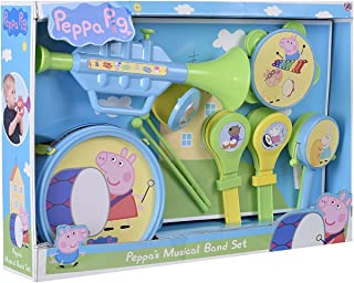 Peppa Pig Musical Band Set Featuring Peppa Pig Miss Rabbit Suzy Sheep and Many More