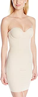 Flexees Women's Maidenform Shapewear Endlessly Slip with Foam Cups