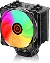 CPU Cooler with 5 Direct Contact Heatpipes, ARESGAME CPU Air Cooler for Intel/AMD with 120mm SYNC ARGB PWM Fan