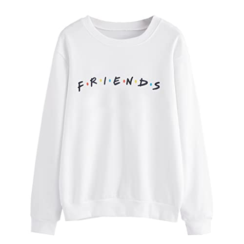 772f0fa2807 MISSACTIVER Women's Sweatshirt Letter Print Lightweight Pullover Top