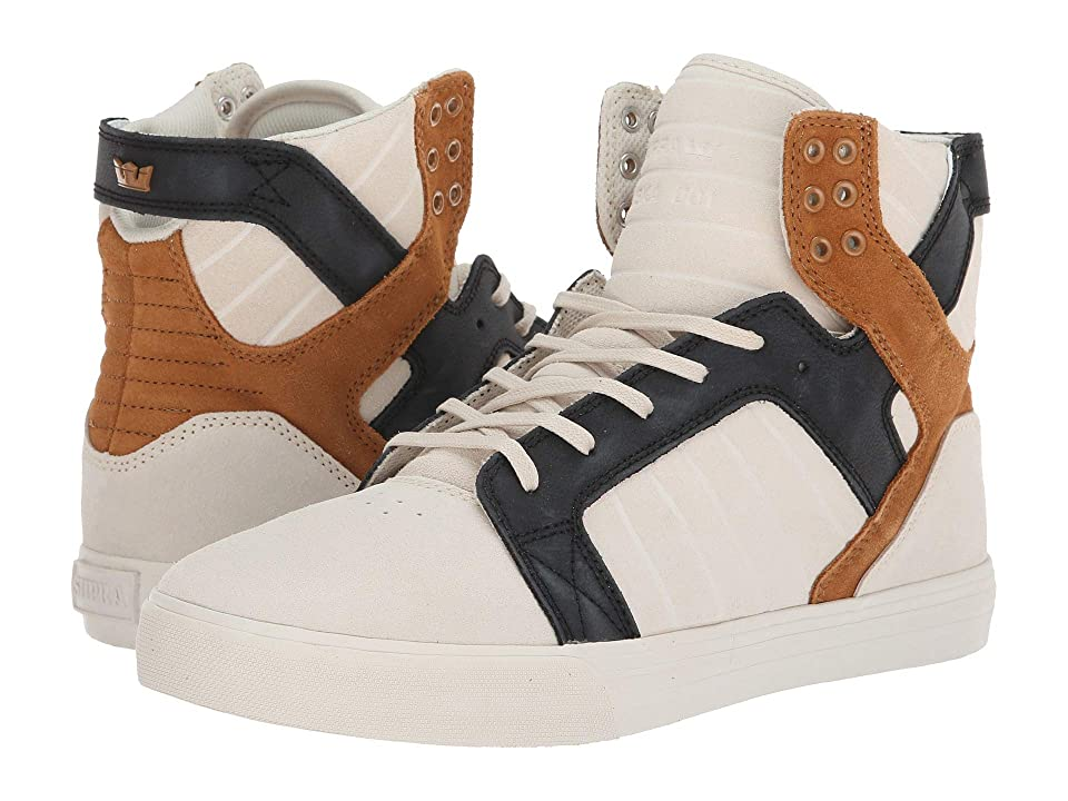 Supra Skytop (Bone/Black/Bone) Men