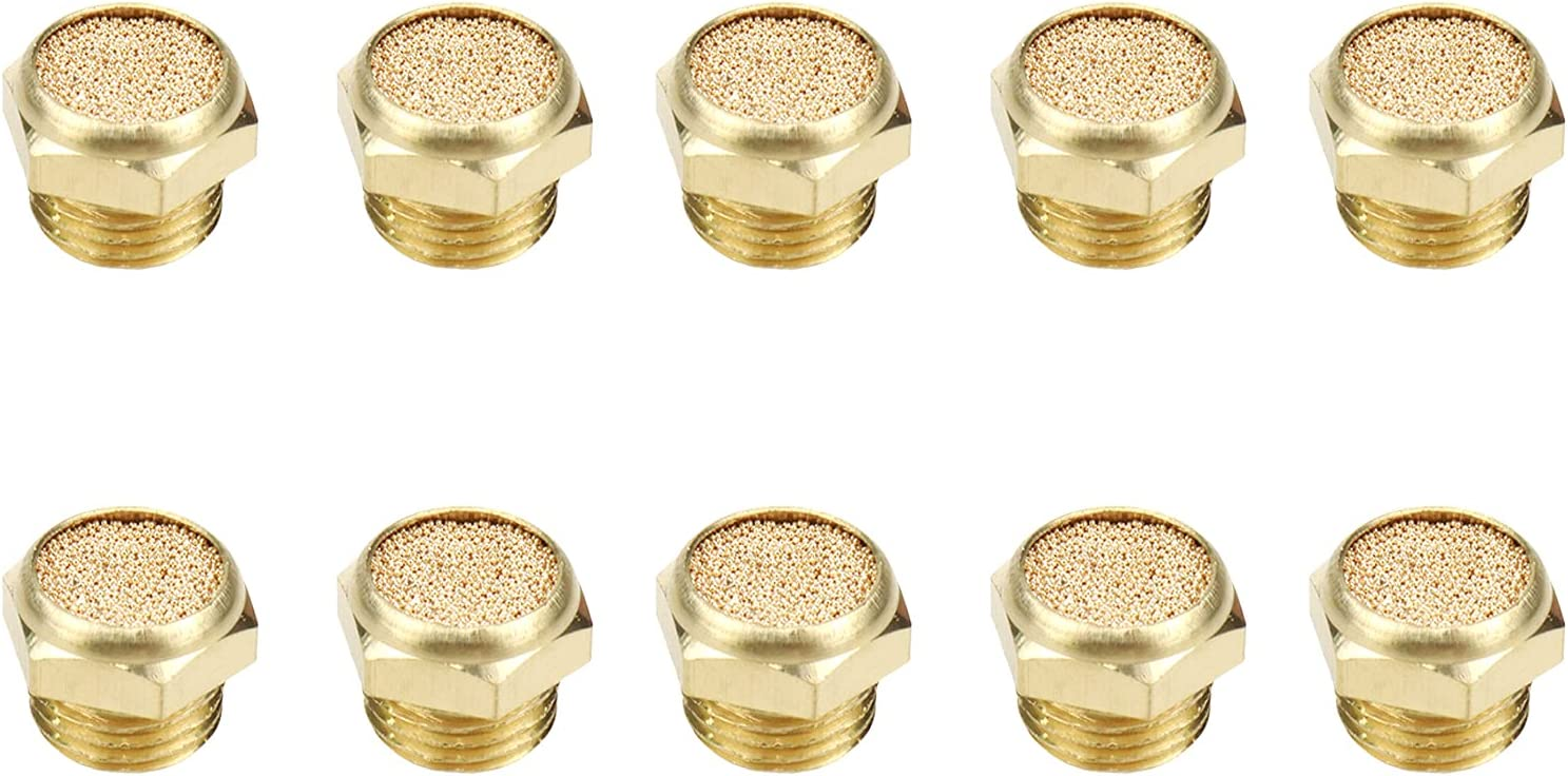 Mcredy Pack of 10 Brass 1 4