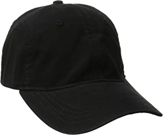 Women's Washed Ball Cap with Adjustable Leather Back