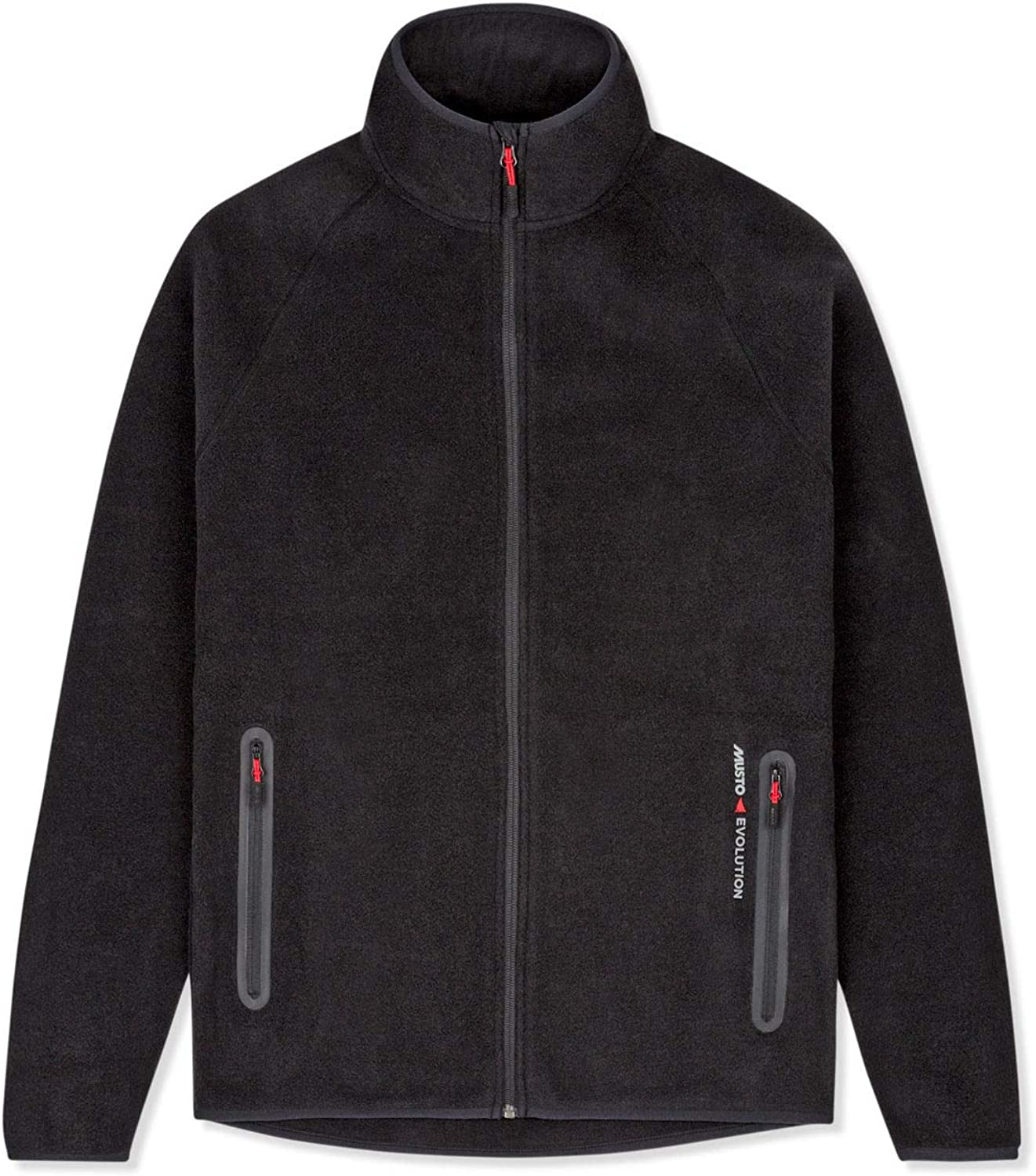Musto Mens Essential Polartec Warm Fleece Coat Jacket BlackTwo hand pockets