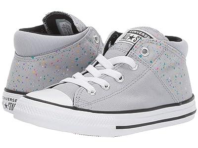 Converse Kids Chuck Taylor(r) All-Star(r) Madison Galaxy Dust Mid (Little Kid/Big Kid) (Wolf Grey/Black/White) Girls Shoes