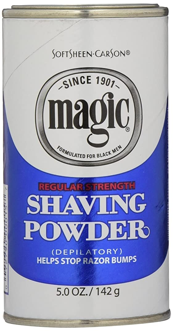 登録するリビングルーム緊急Magic Blue Shaving Powder 133 ml Regular Depilatory (Case of 6) (並行輸入品)