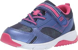 Girls' M2P Indy Sneaker, Navy/Pink, 9 M US Toddler
