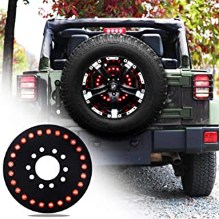 omotor for Jeep Spare Tire Brake Light fits 2007-2019 Jeep Wrangler JK JL Unlimited Rubicon Sahara Sport 2 Door or 4 Door