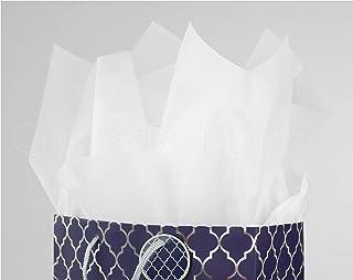 "CleverDelights Premium White Tissue Paper - 500 Sheets - 20"" x 30"" - Acid-Free Sheets - Bulk Ream"