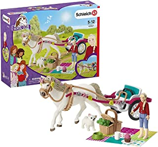 Best Schleich 42467 Small Carriage for The Big Horse Show Horse Club Review