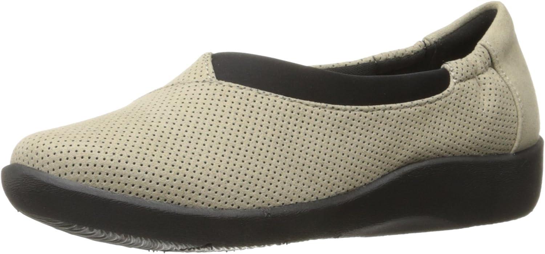 Clarks Frauen Sillian Jetay Loafers Beige Groesse 6.5 US 37.5 EU