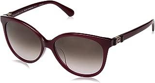 Kate Spade Women's Brieanna/f/s Round Sunglasses, Ople Burg, 57 mm