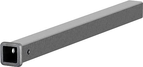 CURT 49360 2-Inch x 36-Inch Weld-On Raw Steel Trailer Hitch Receiver Tube
