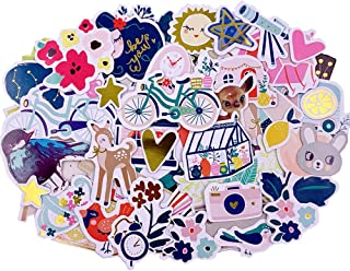 Scrapbook Stickers,Cardstock Stickers Masking Stickers for Personalize Laptop Scrapbook Daily Planner and Crafts