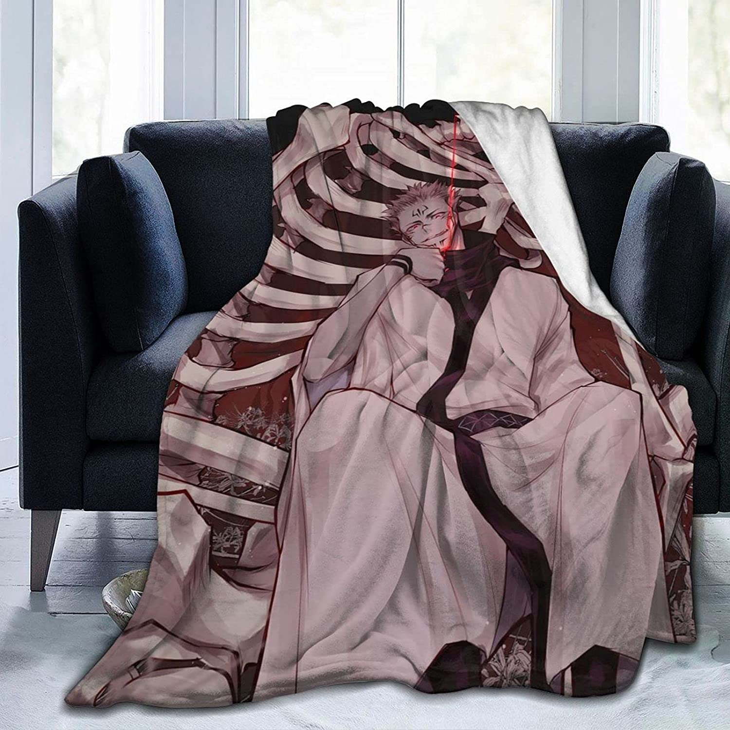 Ysuouht Jujutsu Kaisen Blanket Ultra Soft Throw Limited time trial price Bedroom Selling rankings
