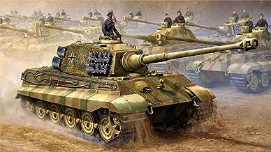 makeuseof Art World War II ww2 Royal Tiger Tiger II PzKpfw VI Ausf. B heavy tank system circuit Canvas Poster