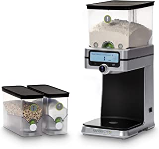 NEW PantryChic Smart Storage System Starter Kit - Automatically Measures & Dispenses from Airtight Storage Containers with...