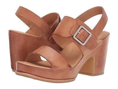 Kork-Ease San Carlos (Brown Full Grain Leather) High Heels