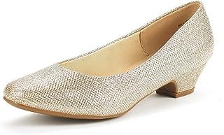 Women's Mila Low Chunky Heel Pump Shoes